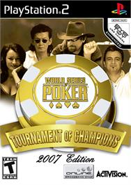 Box cover for World Series of Poker 2008: Battle for the Bracelets on the Sony Playstation 2.
