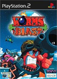 Box cover for Worms Blast on the Sony Playstation 2.