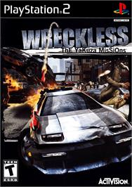 Box cover for Wreckless: The Yakuza Missions on the Sony Playstation 2.