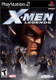 Box cover for X-Men: Legends on the Sony Playstation 2.