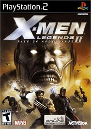 Box cover for X-Men: Legends II - Rise of Apocalypse on the Sony Playstation 2.