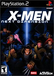 Box cover for X-Men: Next Dimension on the Sony Playstation 2.