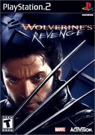 Box cover for X2: Wolverine's Revenge on the Sony Playstation 2.