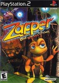 Box cover for Zapper: One Wicked Cricket on the Sony Playstation 2.