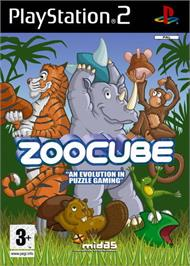 Box cover for ZooCube on the Sony Playstation 2.