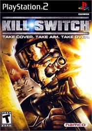 Box cover for kill.switch on the Sony Playstation 2.