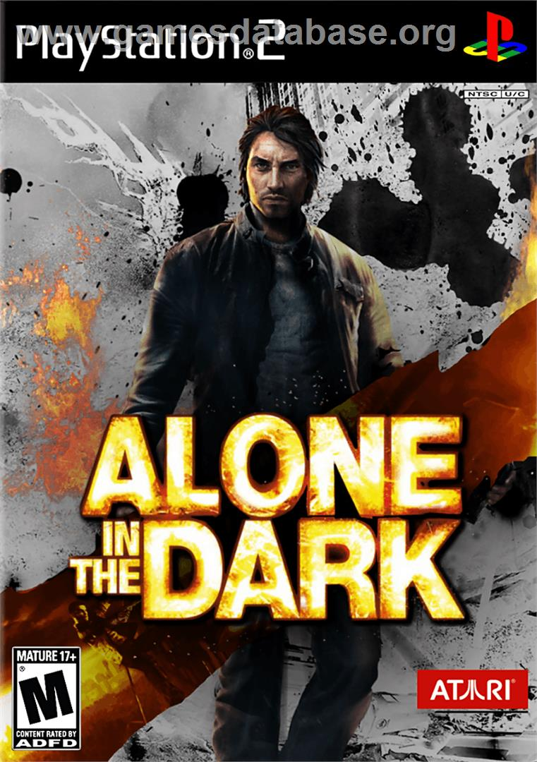 Alone In The Dark Sony Playstation 2 Artwork Box