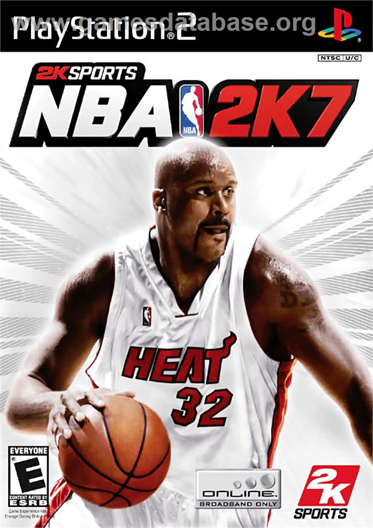 NBA 2K7 - Sony Playstation 2 - Artwork - Box