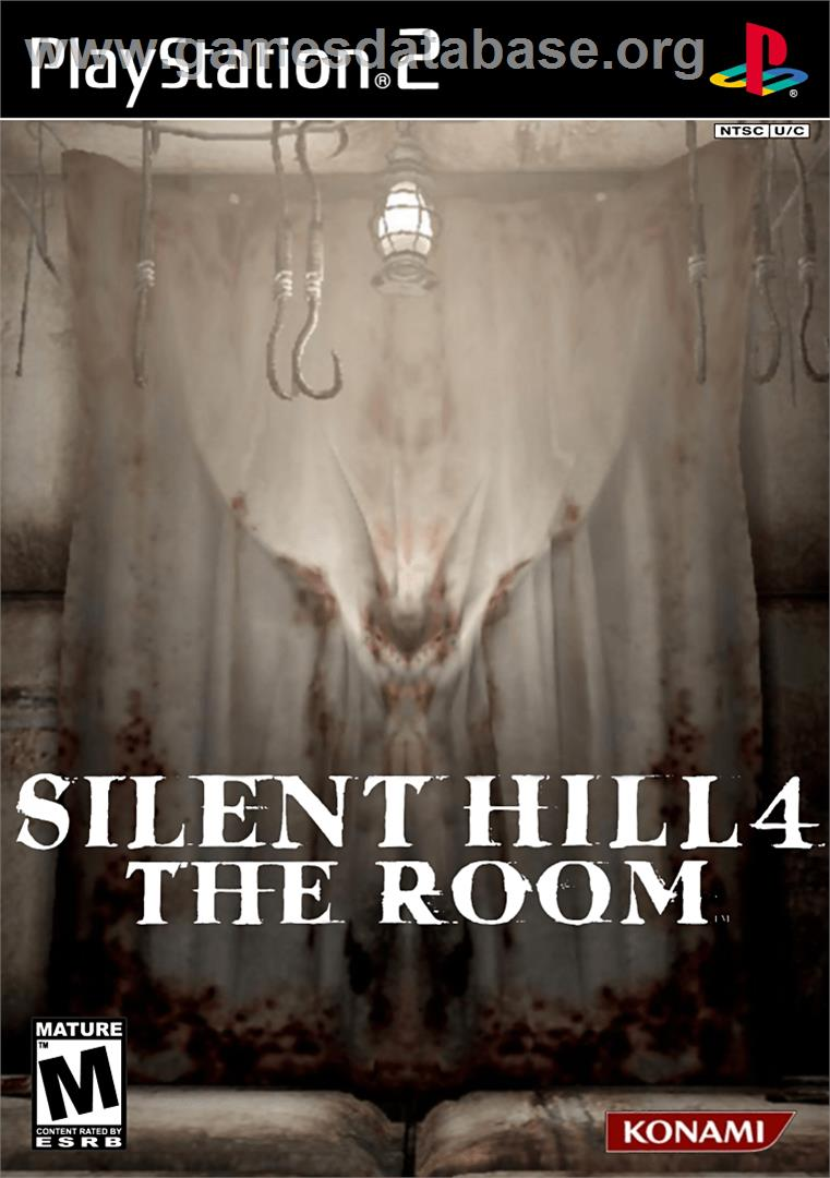 Silent Hill 4 The Room Sony Playstation 2 Artwork Box