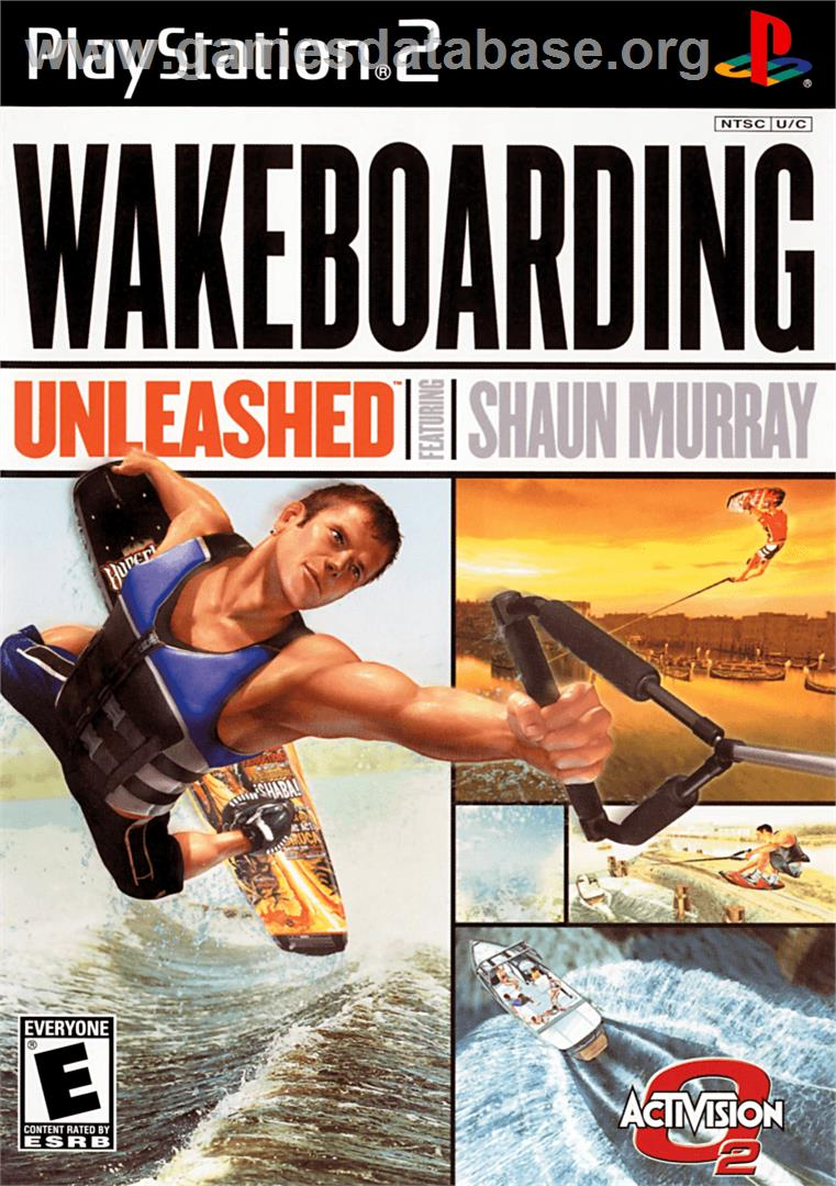 Box cover for Wakeboarding Unleashed featuring Shaun Murray on the