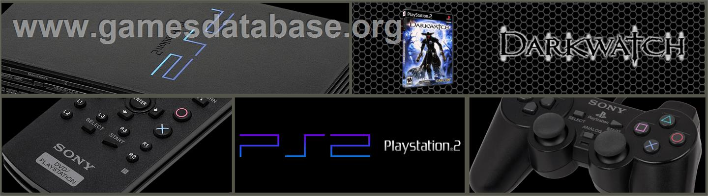 Darkwatch - Sony Playstation 2 - Artwork - Marquee