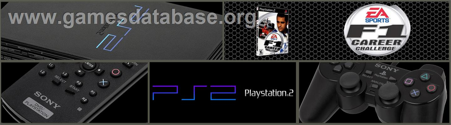 F1 Career Challenge - Sony Playstation 2 - Artwork - Marquee