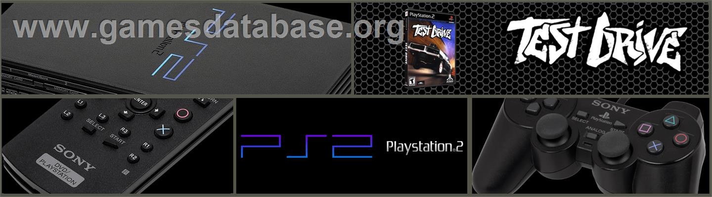 Test Drive: Off-Road: Wide Open - Sony Playstation 2 - Artwork - Marquee