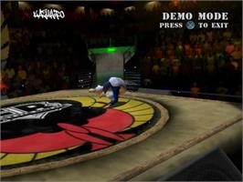 In game image of B-Boy on the Sony Playstation 2.