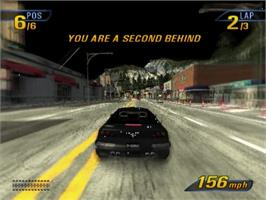 In game image of Burnout 3: Takedown on the Sony Playstation 2.