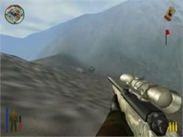 In game image of Cabela's Big Game Hunter on the Sony Playstation 2.
