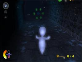 In game image of Casper: Spirit Dimensions on the Sony Playstation 2.