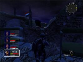 In game image of Conflict: Desert Storm II: Back to Baghdad on the Sony Playstation 2.