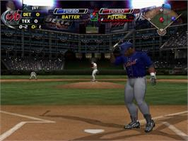 In game image of MLB SlugFest 20-04 on the Sony Playstation 2.