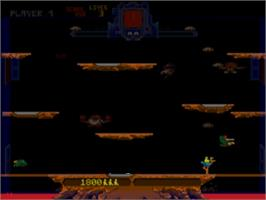 In game image of Midway Arcade Treasures on the Sony Playstation 2.