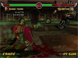 In game image of Mortal Kombat: Deadly Alliance on the Sony Playstation 2.