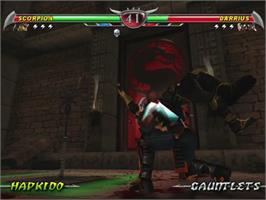 In game image of Mortal Kombat: Deception on the Sony Playstation 2.