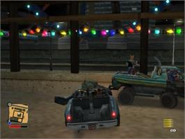 In game image of RoadKill on the Sony Playstation 2.