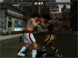 In game image of Rocky: Legends on the Sony Playstation 2.