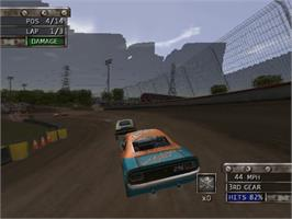 In game image of Test Drive: Eve of Destruction on the Sony Playstation 2.