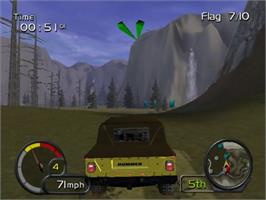In game image of Test Drive: Off-Road: Wide Open on the Sony Playstation 2.