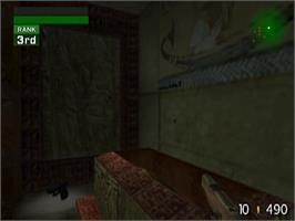 In game image of TimeSplitters: Future Perfect on the Sony Playstation 2.