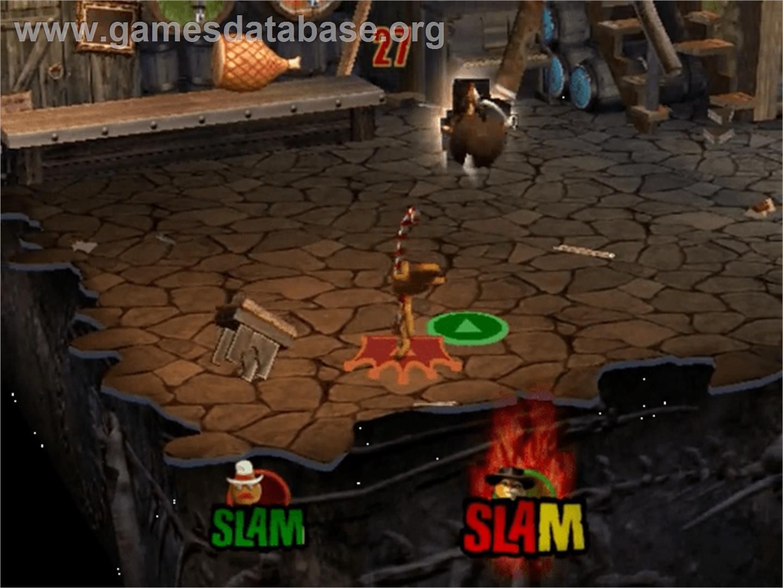 Shrek Superslam Sony Playstation 2 Artwork In Game