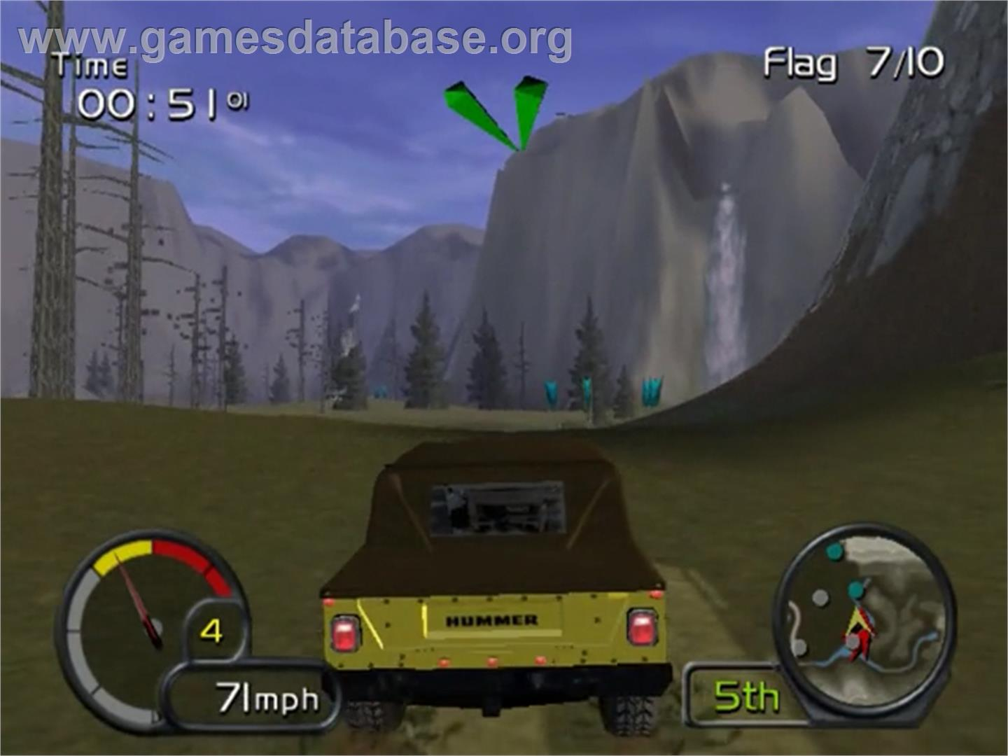 Test Drive: Off-Road: Wide Open - Sony Playstation 2 - Artwork - In Game