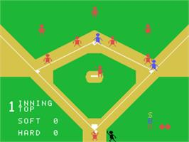 In game image of Baseball on the Sord M5.