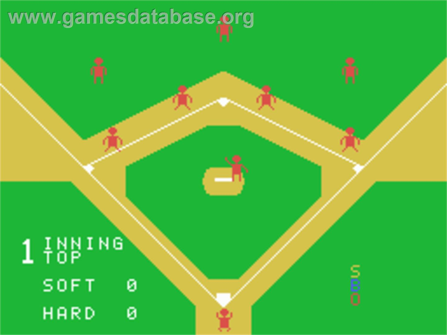 Baseball - Sord M5 - Artwork - Title Screen