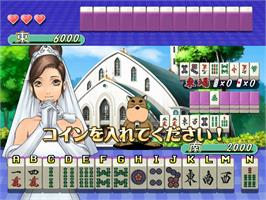 In game image of Taisen Hot Gimmick 5 on the Taito Type X.