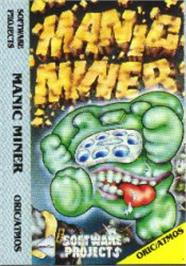 Box cover for Manic Miner on the Tangerine Oric.