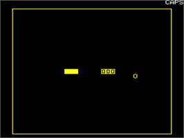 In game image of Swerve on the Tangerine Oric.