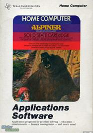 Box cover for Alpiner on the Texas Instruments TI 99/4A.