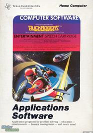 Box cover for Buck Rogers: Planet of Zoom on the Texas Instruments TI 99/4A.
