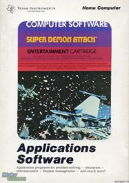 Box cover for Demon Attack on the Texas Instruments TI 99/4A.
