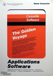 Box cover for Golden Voyage on the Texas Instruments TI 99/4A.