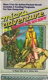 Box cover for Jungle Quest on the Texas Instruments TI 99/4A.