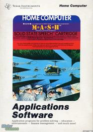 Box cover for M*A*S*H on the Texas Instruments TI 99/4A.