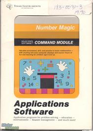 Box cover for Number Magic on the Texas Instruments TI 99/4A.