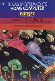 Box cover for Parsec on the Texas Instruments TI 99/4A.
