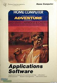 Box cover for Pirate Adventure on the Texas Instruments TI 99/4A.