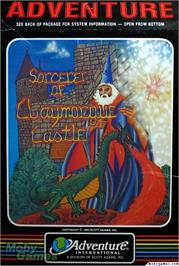 Box cover for Sorcerer of Claymorgue Castle on the Texas Instruments TI 99/4A.