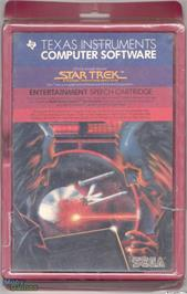Box cover for Star Trek: Strategic Operations Simulator on the Texas Instruments TI 99/4A.