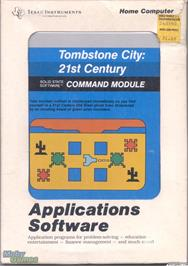 Box cover for Tombstone City: 21st Century on the Texas Instruments TI 99/4A.